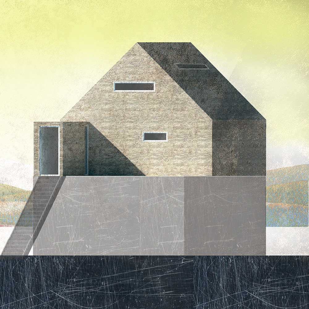 Casa en la azotea arkraft for La casa de la azotea